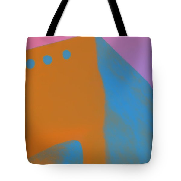 Adobe Walls Number 4 Tote Bag by Carol Leigh