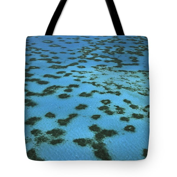Aerial View Of Great Barrier Reef Tote Bag by L Newman and A Flowers and Photo Researchers
