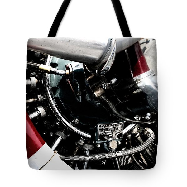Aero Machine 6 Tote Bag by Nathan Larson