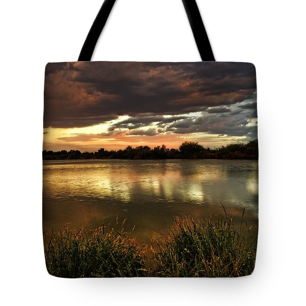 Afterglow Tote Bag by Saija  Lehtonen