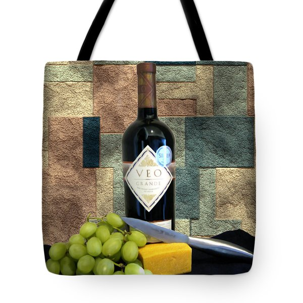 Afternoon Delights Tote Bag by Kurt Van Wagner