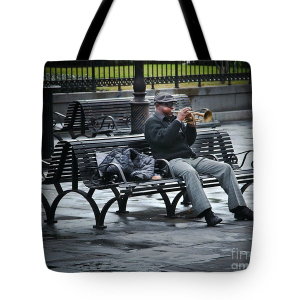 Afternoon Music Tote Bag by Perry Webster