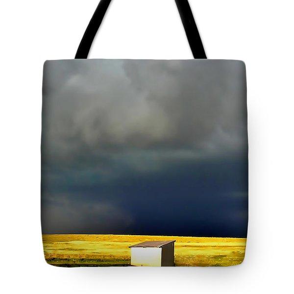Afternoon Storm Tote Bag by Ellen Heaverlo