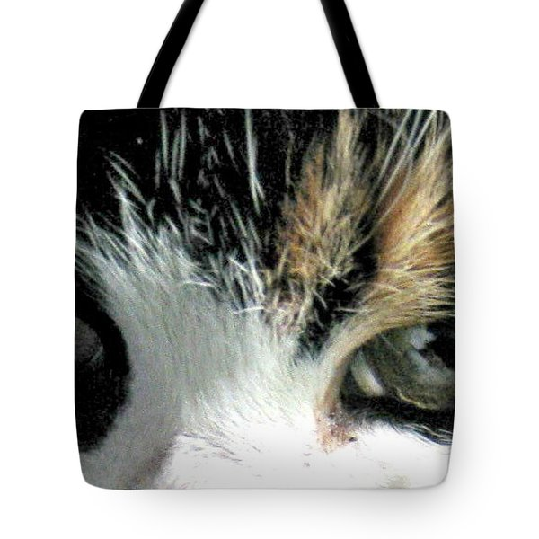 Aged Eyes Tote Bag by Rory Sagner