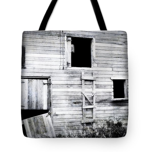 Aging Barn Tote Bag by Julie Hamilton