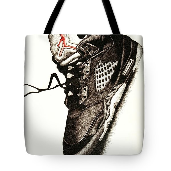 Air Jordan Tote Bag by Robert Morin