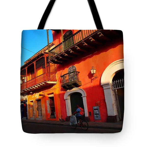 Aire Acondicionado Tote Bag by Skip Hunt