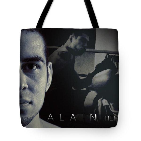 Alain Hernandez Mixed Martial Artist Tote Bag by Lisa Knechtel