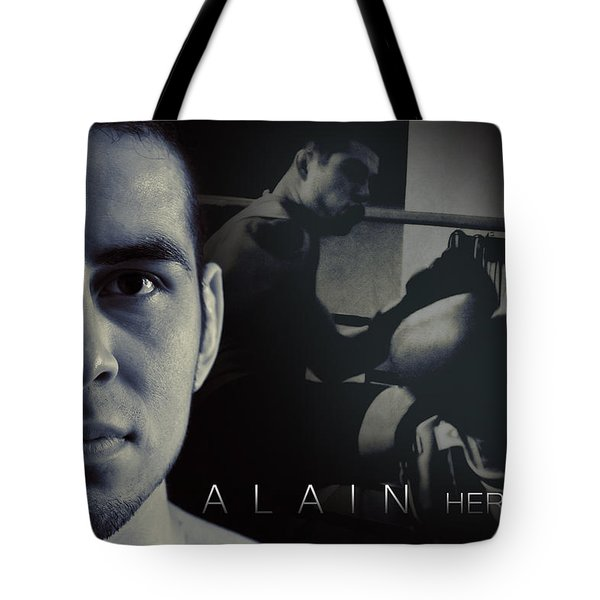 Alain Hernandez Mixed Martial Artist Tote Bag by Lisa Knechtel
