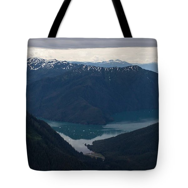 Alaska Coastal Serenity Tote Bag by Mike Reid