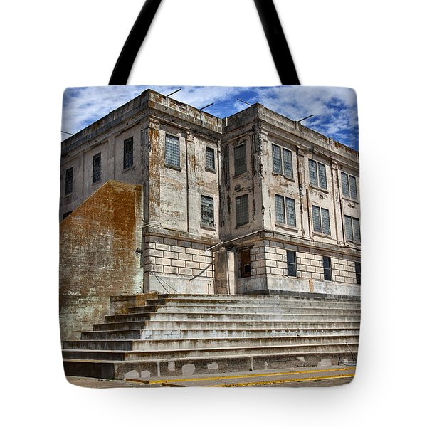 Alcatraz Cellhouse  Tote Bag by Garry Gay