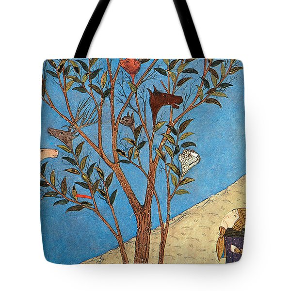 Alexander The Great At The Oracular Tree Tote Bag by Photo Researchers