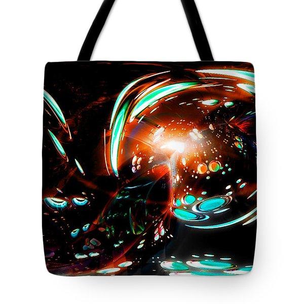 Alien Cave 2 Tote Bag by Adam Vance