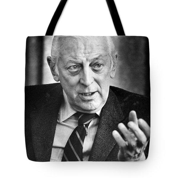 Alistair Cooke (1908-2004) Tote Bag by Granger