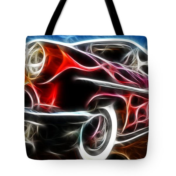 All American Hot Rod Tote Bag by Paul Ward