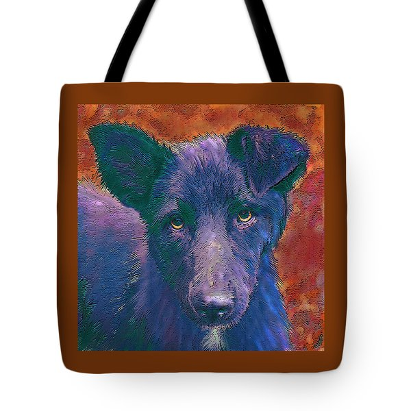 All American Mutt Tote Bag by Jane Schnetlage