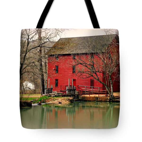 Alley Mill 4 Tote Bag by Marty Koch