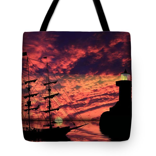 Almost Home Tote Bag by Shane Bechler