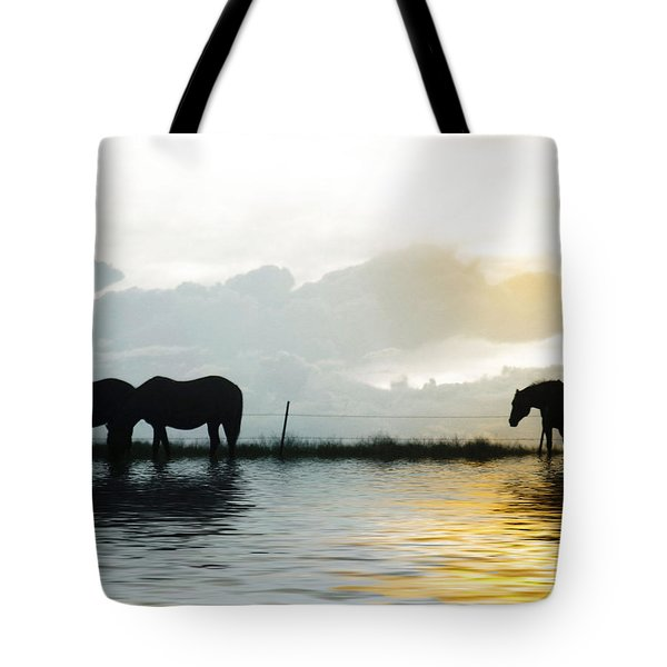 Alone Tote Bag by Susan Kinney