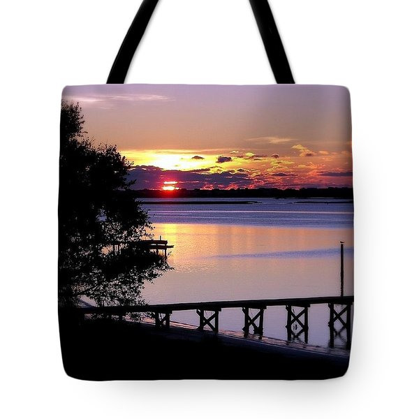 Alone with God Tote Bag by KAREN WILES