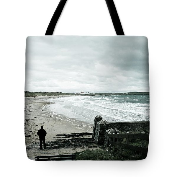 Alone Without You Tote Bag by Nomad Art And  Design