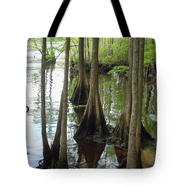 Along The Waccamaw Tote Bag by Suzanne Gaff