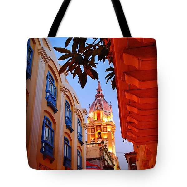 Along the Watchtower Tote Bag by Skip Hunt