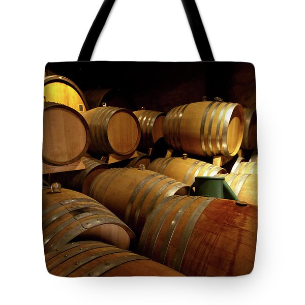 Alsace Oak Tote Bag by Bill Lindsay