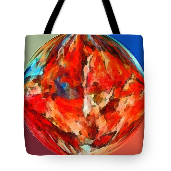 Alternate Realities 3 Tote Bag by Angelina Vick