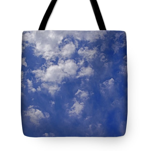 Alto Cumulus With Ice Tote Bag by Mick Anderson