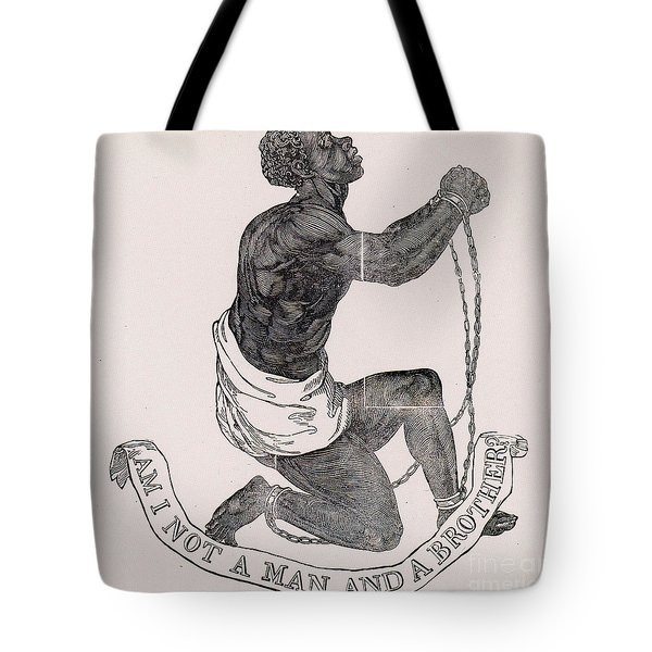 Am I Not A Man And A Brother Tote Bag by Photo Researchers