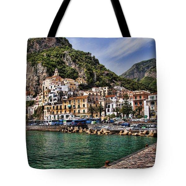 Amalfi Tote Bag by David Smith
