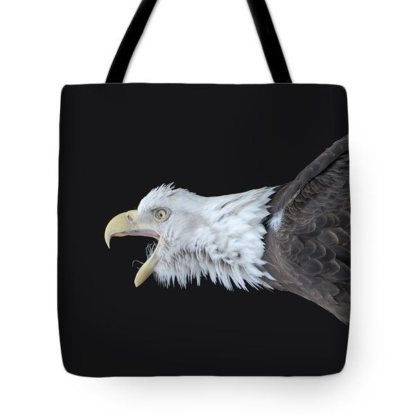 American Bald Eagle Tote Bag by Paul Ward