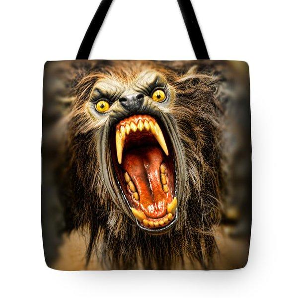 American Werewolf Tote Bag by Paul Ward