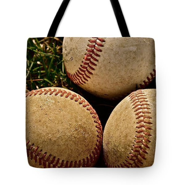 America's Pastime Tote Bag by Bill Owen
