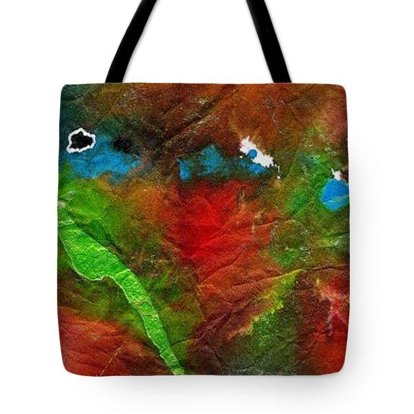 An Earthy Feeling Tote Bag by Angela L Walker
