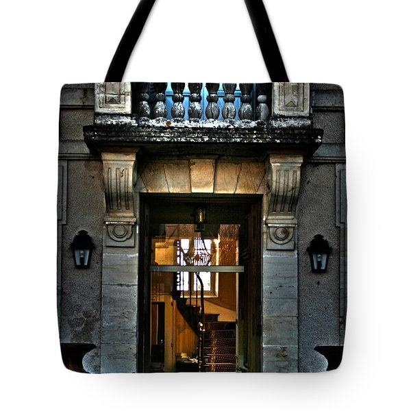 An Evening Welcome Tote Bag by Nomad Art And  Design
