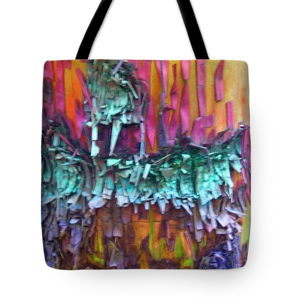 Tote Bag featuring the digital art Ancient Footsteps by Richard Laeton