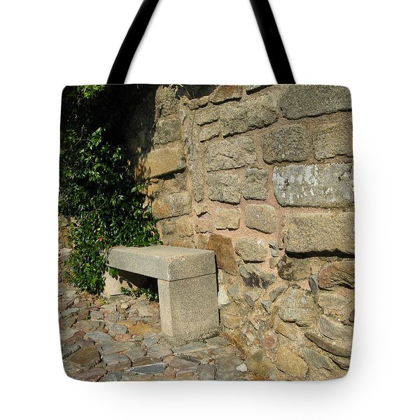 Ancient Wall Tote Bag by Arlene Carmel