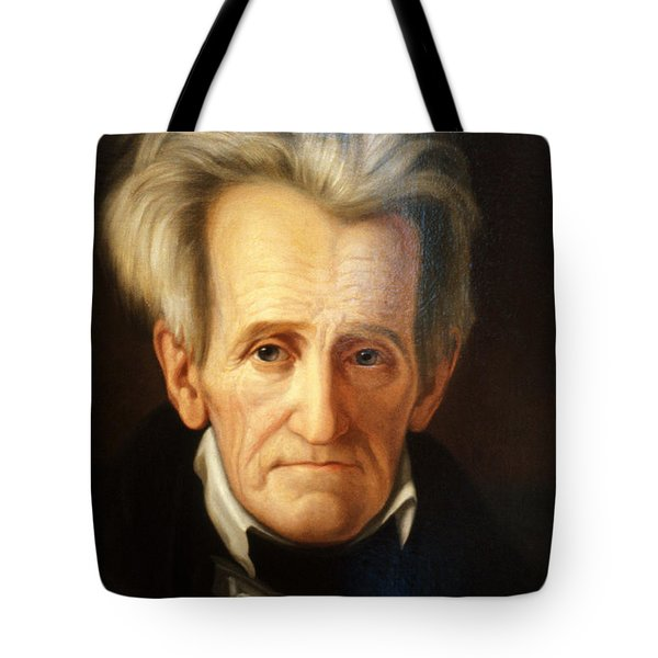 Andrew Jackson, 7th American President Tote Bag by Photo Researchers