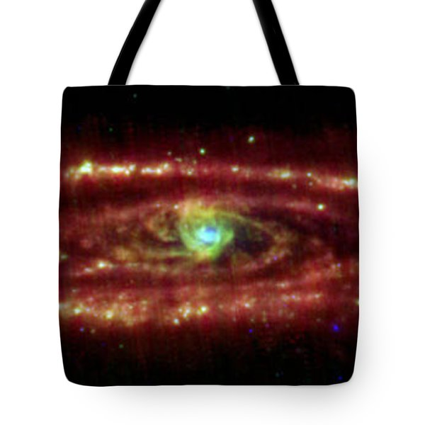 Andromeda Galaxy Tote Bag by Nasa
