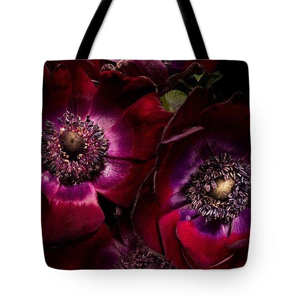 Anemones Tote Bag by Ann Garrett