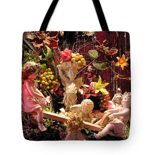 Angel Love Tote Bag by Anthony Wilkening