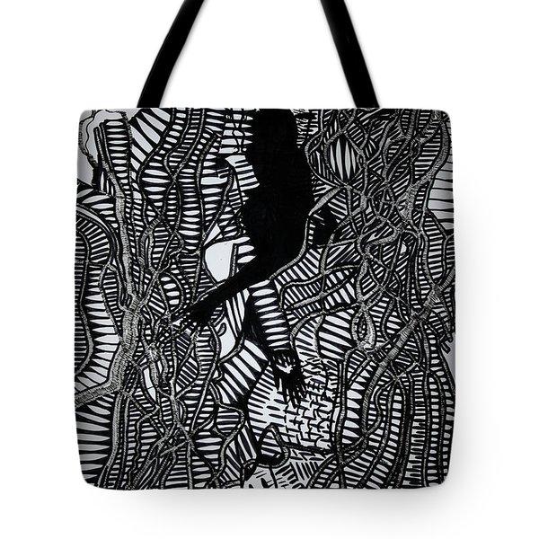 Angels Kiss Tote Bag by Gloria Ssali
