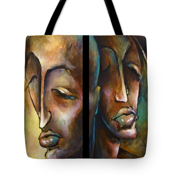 'angels Of Deception' Tote Bag by Michael Lang