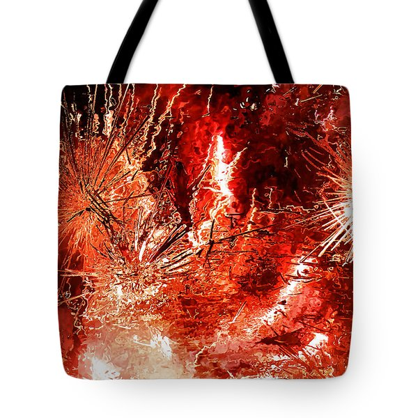 Anger Tote Bag by Kristin Elmquist