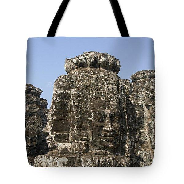 Angkor Thom IIi Tote Bag by Gloria & Richard Maschmeyer