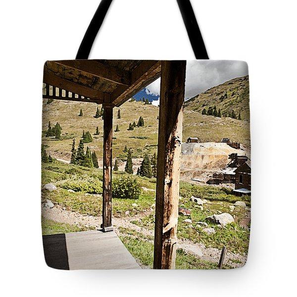 Animas Forks Drybrush Tote Bag by Melany Sarafis