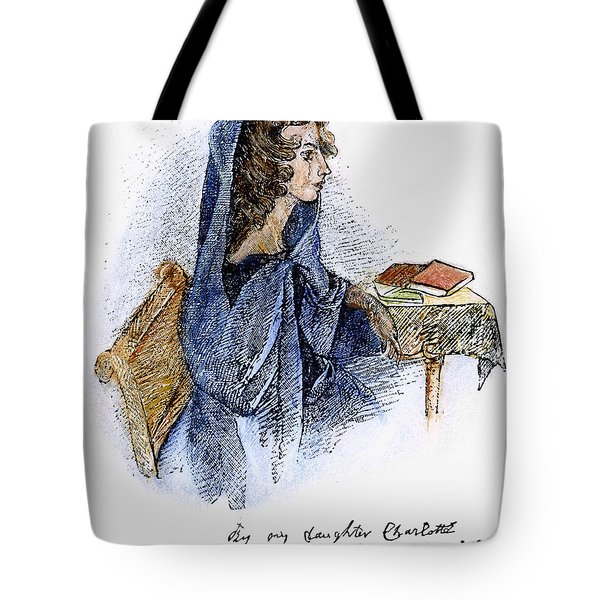 Ann Bronte (1820-1849) Tote Bag by Granger