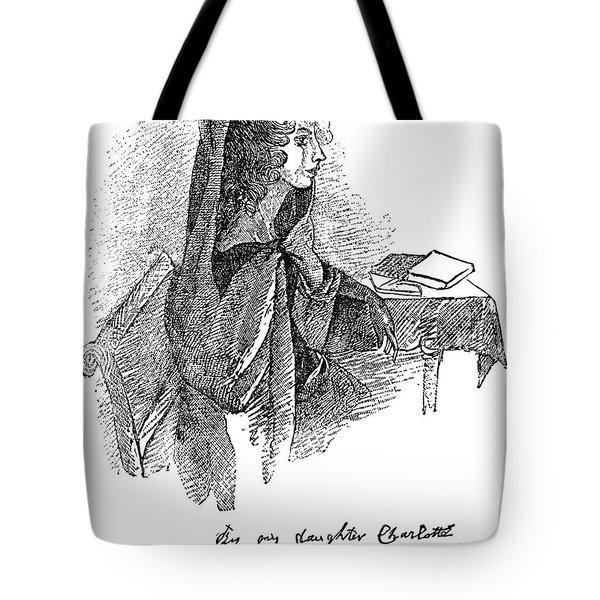 Anne BrontË (1820-1849) Tote Bag by Granger